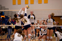 101514 Varsity Volleyball - DeWitt vs. Haslett
