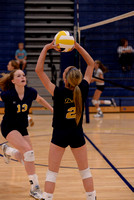 091014 Freshman & JV Girls Volleyball - DeWitt vs. St. Johns
