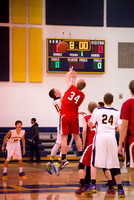 010614 JV Boys Basketball - Grand Ledge vs. St. Johns