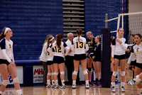 101916 Varsity Volleyball - DeWitt vs. Haslett