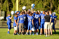 082516 Varsity Football - Bath vs. Durand